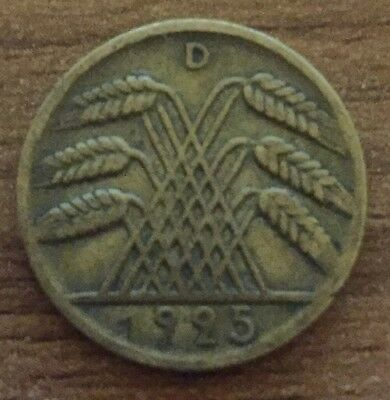 1925 D 10 Pfennig Germany
