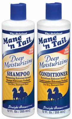 MANE 'n TAIL ** DEEP MOISTURISING  ** SHAMPOO AND CONDITIONER 12 oz