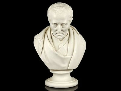 1852 Duke of Wellington Parian Porcelain Bust
