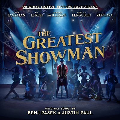 THE GREATEST SHOWMAN SOUNDTRACK CD Free Delivery