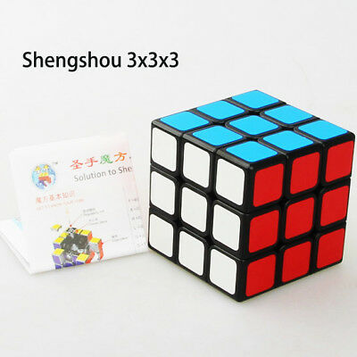 Shengshou 3x3x3 Magic Speed Cube Professional Ultra-smooth Twist Puzzle Kids Toy