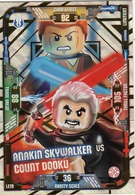 Lego Star Wars Trading Card Serie 1 Anakin vs. Count Dooku Limitierte LE19 NEU