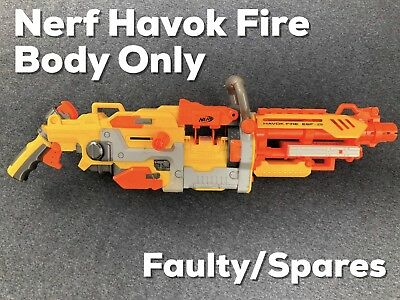 Nerf Havok FIRE EBF-25 Faulty Spares Repairs Body Only