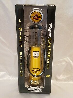 Wayne Limited Edition Pennzoil Advertisement gas pump replica!