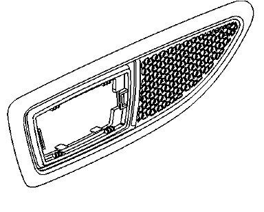 Vauxhall Bezel - Genuine New - 13250944