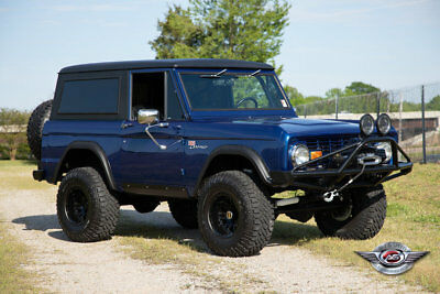 Ford Bronco  Custom 1971 Ford Bronco - Beauty and Beast, All in One!