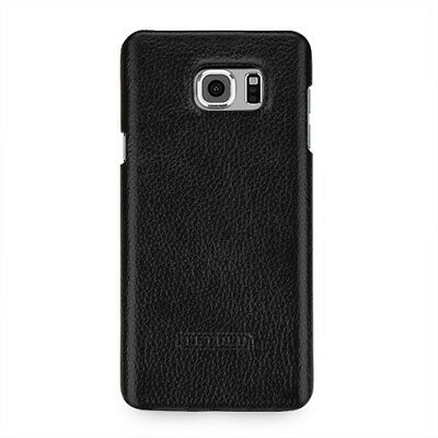for Samsung Galaxy Note 5 Genuine Leather Snap Hard Shell Case Back Cover 9Color