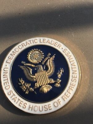 Nancy Pelosi Challenge Coin US House Of Representatives Authentic