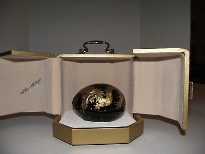 Theo Faberge St. Petersburg Dragon Egg Limited Number 314 of 750 signed