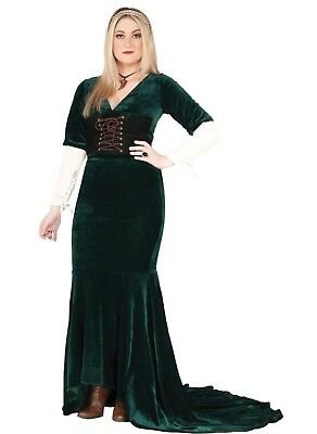 Medieval Revealing Dress Renaissance Game Of Thrones Adult Cosplay Plus Size