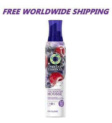 Herbal Essences Totally Twisted Curl Boosting Mousse Mixed Berry WORLD SHIP