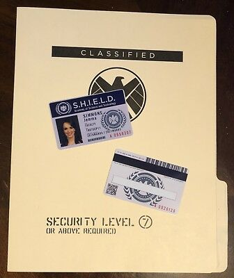 • Shield • Jemma Simmons • Academy Of Science & Technology Id • Agent Coulson •