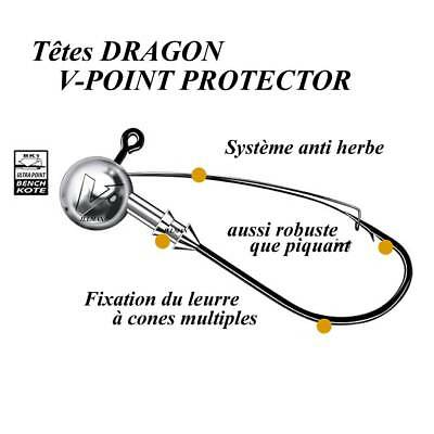 têtes plombees dragon v-point protector