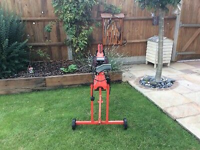 Electric Hydraulic Log Splitter & Stand 6 Ton Fire Wood Cutter by Logmaster