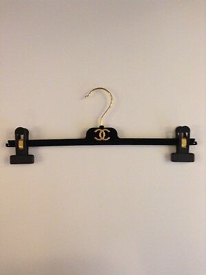 Chanel: Luxury Velvet Velour Designer Skirt Trouser Hanger New & Unused Perfect