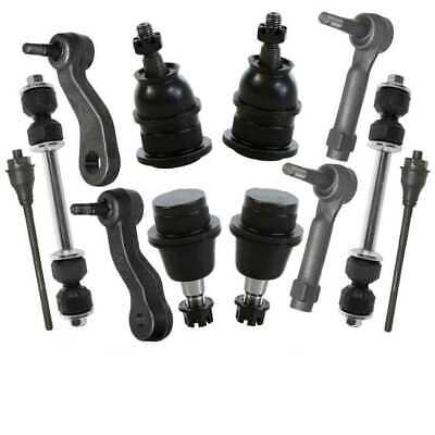 4 Tie Rods 4 Ball Joints 2 Sway Bars 1 Idler Arm 1 Pitman Arm fits Chevy or GMC