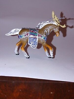 The Trail of Painted Ponies #12328 Reindeer Roundup Ornament