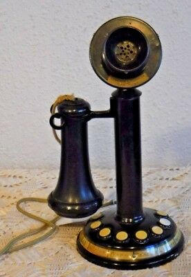 Edwards and Company New York Eight Station Candlestick Telephone Vintage Beauty