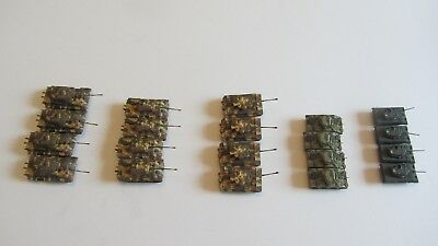21st Century Toys 1:144 20 Tanks! WWII US and German Sherman M18 Tigers Panther