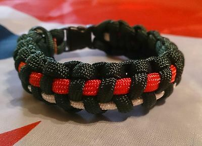 The Royal Regiment of Scotland SSAFA Inspired Paracord 550 Bracelet
