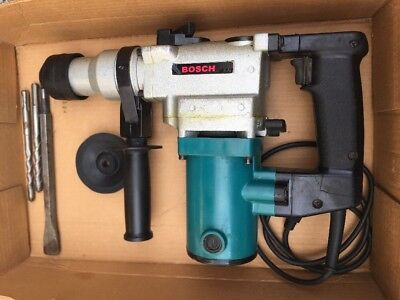BOSCH Rotary Hammer Drill with Bits FREE SHIPPING