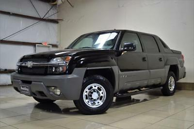 Avalanche -- 2002 Chevrolet Avalanche 2500 4WD 8.1L LOW MILES VERY HARD TO FIND MUST SEE