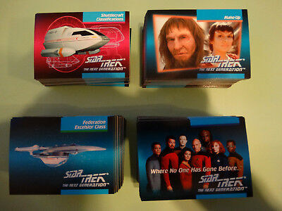 Star Trek the Next Generation Trading cards lot of over 300 cards from 1992