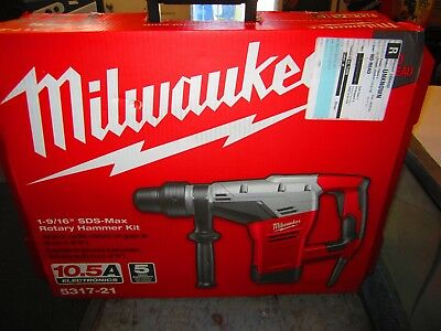 *NEW* Milwaukee 1-9/16 in. SDS-Max Rotary Hammer (5317-21)