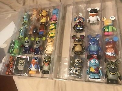 Disney vinylmation Lot Comes With Boxes, Multiple Series Lot Of 25