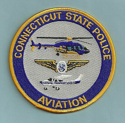 Connecticut State Police Air Unit Patch