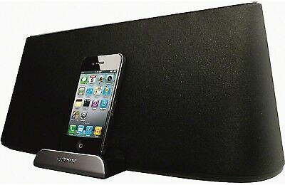 New Sony RDP-X500iP Premium Audio Speaker Dock Apple iPhone iPod (30 Pin)