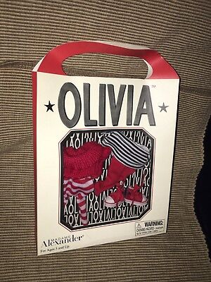 New VTG 2002 Madame Alexander Olivia Pig Out & About Clothes Outfit Acc Set RARE