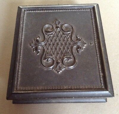 Thermoplastic Union Case Daguerrotype Ninth Plate