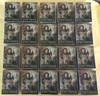 Lot Of 20 2004 The Lord Of The Rings Return Of The King Update Trading Card Sets