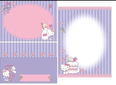 Cute Hello Kitty Letter Set Writing Paper