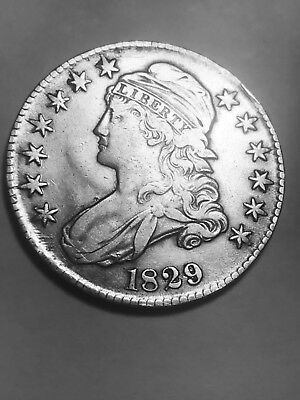 1829 50C Capped Bust Half Dollar