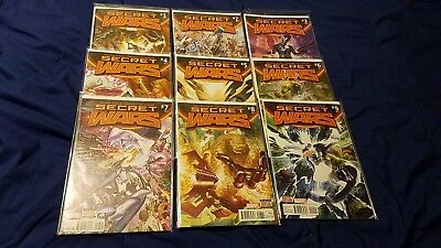 Marvel's Secret Wars (2015) #1-9 Complete Run, 1st Printing