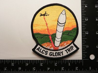 Patch---Alcs Glory Trip--Lgm-30G Minuteman Missile