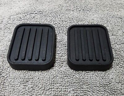 CLASSIC MINI & MOKE - RUBBER PEDAL PADS - GPR104 (x2)  NOS (See Info in listing)