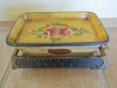 vintage collectable scale SCHULZ 10 kg made in Austria