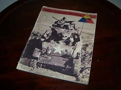1940 Large Size 13th Armored Division Book w/Dozens Of Photo Prints GC!