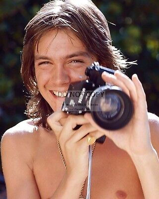 David Cassidy Entertainer Singer Actor - 8X10 Publicity Photo (Aa-547)