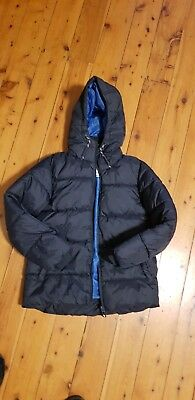 Boys Size 8 Navy Next Puffa Jacket - Excellent cond, worn only few times