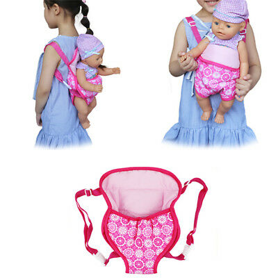 "Doll Accessory Outgoing Backpack 43cm For Baby 18"" Dol R"