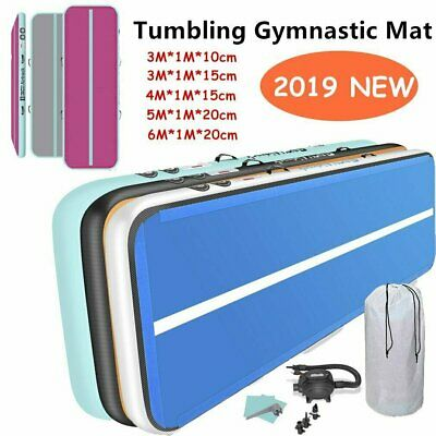 GoFun 3/5M AirTrack Inflatable Air Track Tumbling Floor Home Gymnastics Yoga Mat