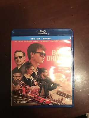Baby Driver Blue-Ray Only
