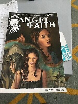 Angel And Faith Season 9 Volume 2 daddy issues