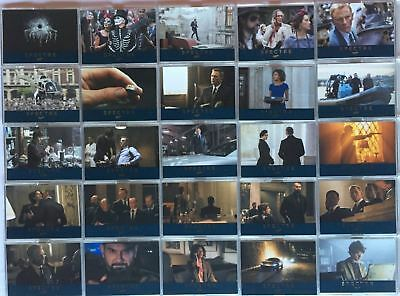 James Bond Archives 2015 Spectre Numbered Gold Parallel Card Set 76 Cards