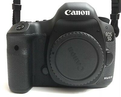 Canon EOS 5D Mark III 22.3MP Digital SLR Camera - Low Shutter Count!