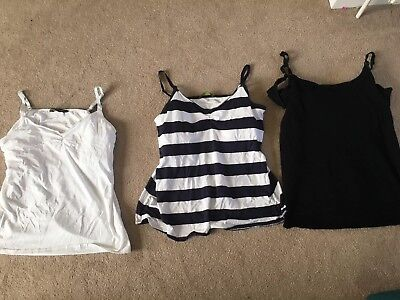 Maternity And Nursing Vests From Mothercare And Next Size 18/XL